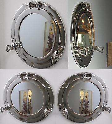 Wandspiegel Bullauge Schiffsfenster Spiegelfenster Badspiegel Frisierspiegel Neu