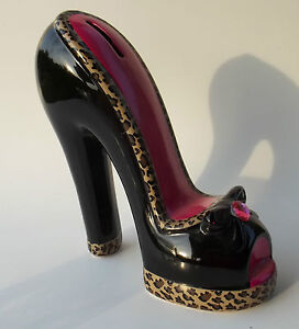 piggy bank high heel high fashion shoe