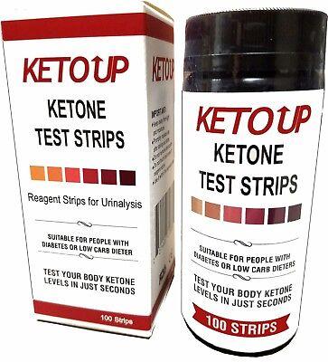 Ketone Test Strips Keto Bulletproof Atkins  Low Carb Diets Urine Test