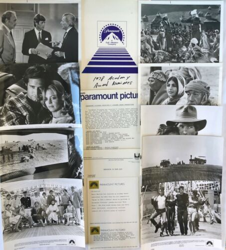 """""""1978 ACADEMY AWARDS NOMINEES"""" PARAMOUNT PICTURES  PRESS KIT! EXTREMELY RARE!!"""