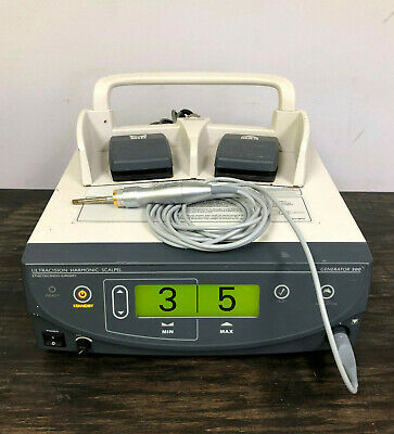 Ethicon G300 Gen 04 Ultracision Harmonic Scalpel Generator Handpiece Footswitch