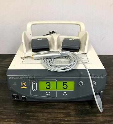 Ethicon G300 Gen 04 Ultracision Harmonic Scalpel Generator Handpiece Footswitch