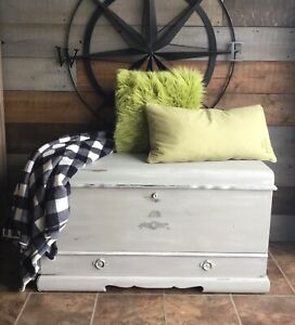 Waterfall cedar chest