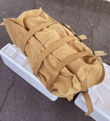 Original WW1 Boston Depot 1918 Army Calvary Canvas Military Pannier Pack Bag