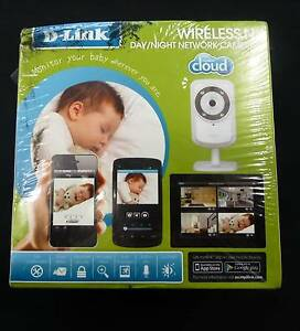 D LINK WIRELESS Day / NIGHT NETWORK CAMERA - BRAND NEW Campbelltown Campbelltown Area Preview