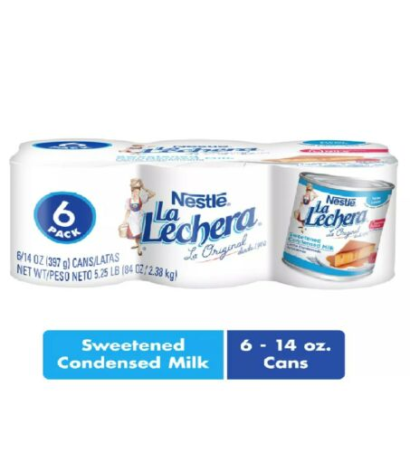 La Lechera Sweetened Condensed Milk (14 oz. cans, 6 pk.)