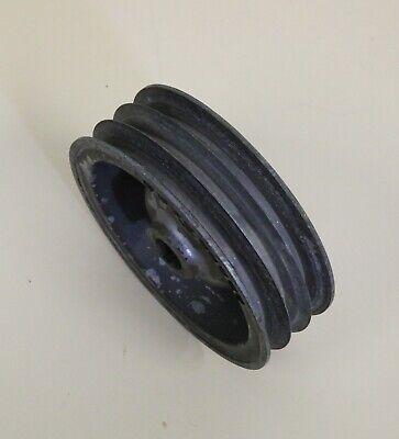 Delta Rockwell Unisaw Bullet Motor Aluminum Pulley 3 Belt Vintage