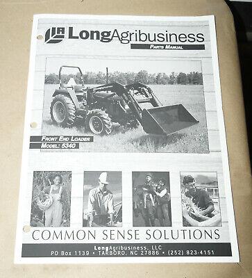 2000 Long Agribusiness Model 5340 Front End Loader Parts Manual Pn 751389