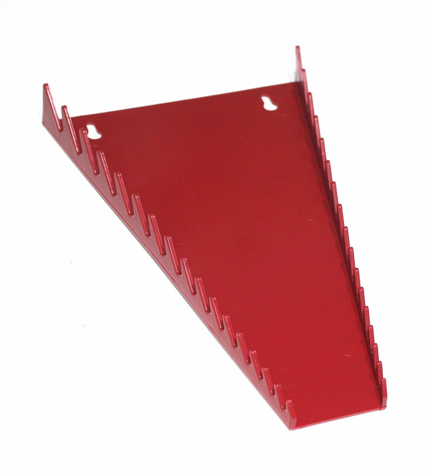 RED & BLACK  JSP Manufacturing 16-Tool Standard Wrench Organizer 2 Pack