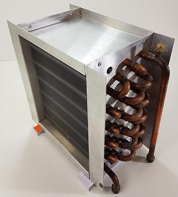 VentilationNord Wärmetauscher Kühler Erhitzer 350m³/h Luft Wasser - Luft-wärmetauscher