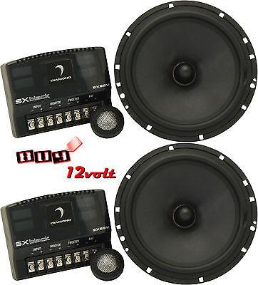 Diamond Audio SX65v SXblack Series 6.5
