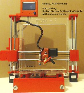 3DMakerbits FULLY ASSEMBLED: RAMPS Prusa i3 3D Printer Adelaide CBD Adelaide City Preview