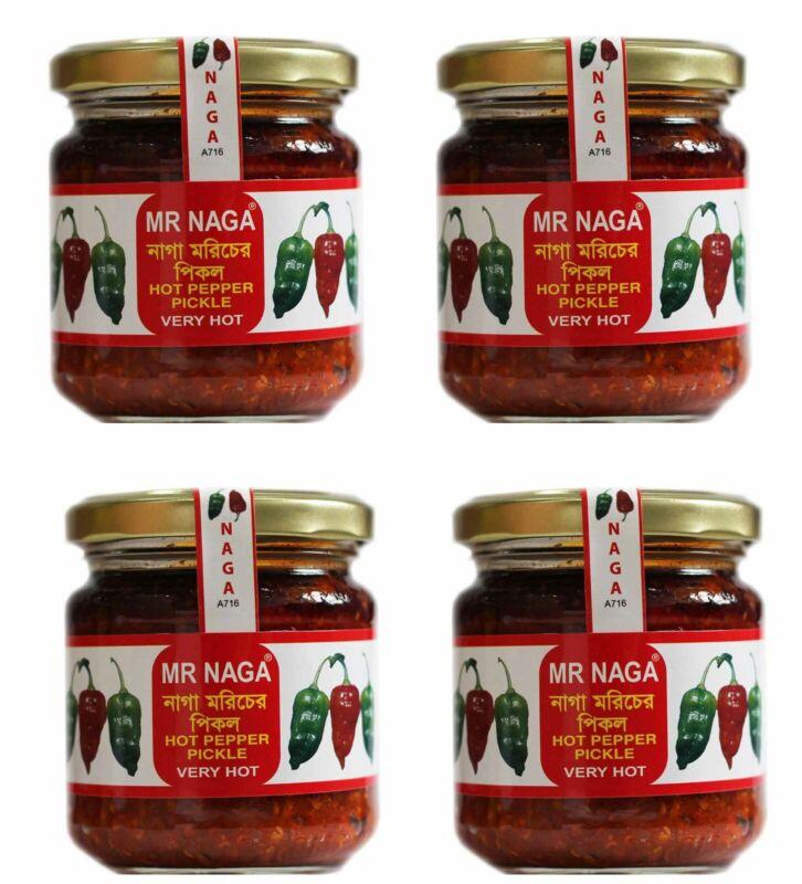 Mr Naga Very Hot Pepper Pickle - Naga Pepper Pickle - Naga Paste