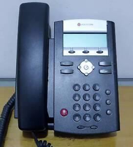 6 Office phone NEC DT800 ITZ-24D-3A (BK) VoIP Telephone
