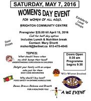 Women's Day Event - May 07, 2016