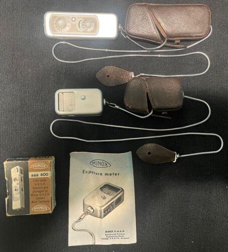 Minox Wetzlar Model A All Original Sub-miniature Camera Withaccessories