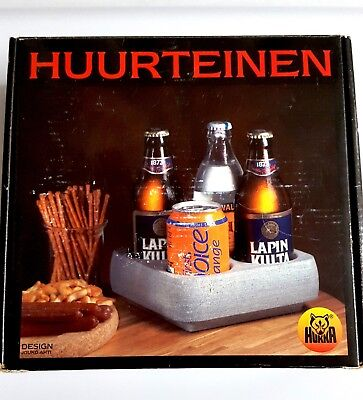 HUKKA - Huurteinen Finnish Soapstone Drink Cooler