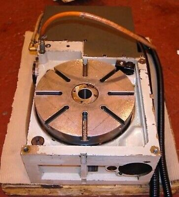 12.5 Inch 4th Axis Cnc Mill Indexer Rotary Table - See Video Milling Center