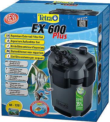 Tetra filtro esterno EX 600 Plus per acquari fino a 120 litri completo