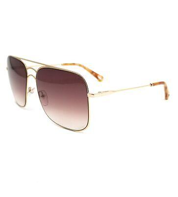 CHLOE Sunglasses CE140S 743 Gold Navigator Women 58x16x140
