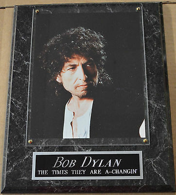 #1 FAN BOB DYLAN FRAMED 8X10 PHOTO DECOR-MAN CAVE ART-12X15 WALL PLAQUE DISPLAY