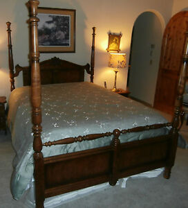 Complete Thomasville Queen Size Bedroom Furniture French