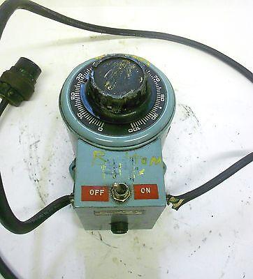 Powerstat Variable Autotransformer Type 216ct 5060 Hz 1 Ph