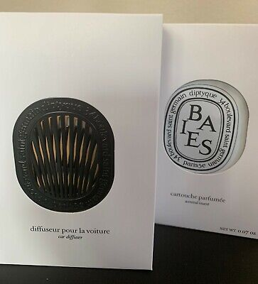 Diptyque Car Diffuser with BAIES Scented Insert (OPEN BOX)