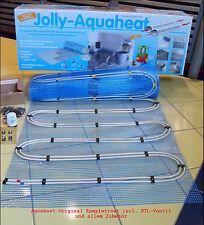 Fu/ßbodenheizung Aquaheat Jollytherm Warmwasser Fl/ächenheizung 2,5-20qm Aquaheat-Gr/ö/ße 9010882-5qm