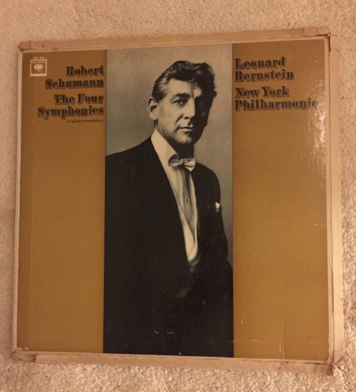 Leonard Bernstein New York Philarmonic  Robert Schumann The Four Symphonies