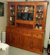Solid Pine Buffet & Hutch McKail Albany Area Preview
