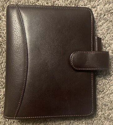 Franklin Covey Quest Compact Leather Binder