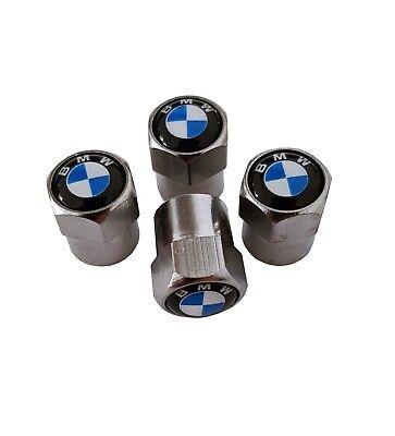 BMW Auto Ventilkappen   Silber   1er 3er 5er 7er X1 X3 X5 X6 M3 M5 M6   NEU 2018