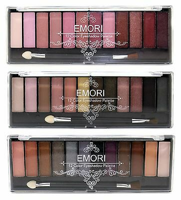 Natural, Smoky, Ultra Elegant 36 Color Eyeshadow Pro Makeup