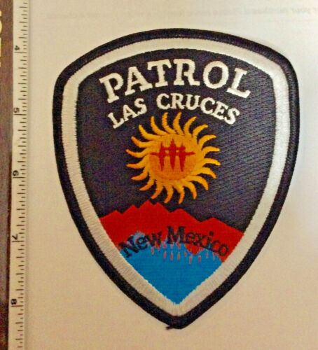 Las Cruces New Mexico PATROL Police Shoulder Patch New