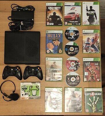 """Xbox 360 250GB """"E"""" Console + Games -- Big Fun Bundle"""