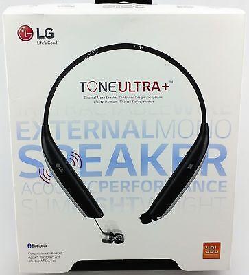 Headset Retail Box - LG TONE ULTRA Bluetooth Wireless Headset Speakerphone HBS-820S Black Retail Box