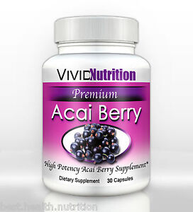 PREMIUM ACAI BERRY Diet Colon Cleanse Weight Loss Detox