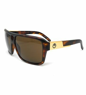 DRAGON Sunglasses THE JAM 1 305 Matte Tortoise Square Unisex (Dragon Jam Sunglasses)