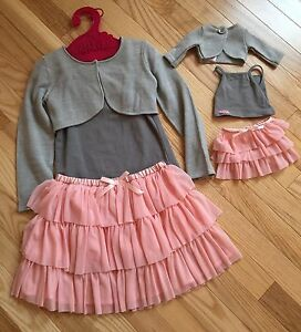 "Matching 18"" doll outfit and a size 4/5"