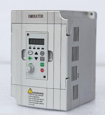 0.75kw Frequency Drive Inverter Converter Vfd 220v240v 1hp Input 8.2a Output 4a