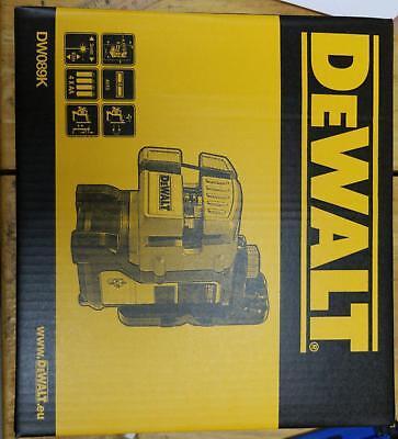 Official Dewalt Dw089k -xj Self Leveling 3 Beam Line Laser Europe Version