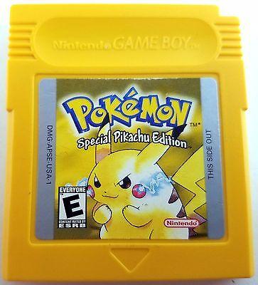 Usado, Pokemon Yellow Version Pikachu Game Boy Color Cleaned & Good Save Battery Nice! segunda mano  Embacar hacia Argentina