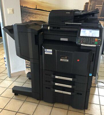 Kyocera TASKalfa 3050Ci Fax Druck Scan Drucker Farbkopierer unter 300.000 gedruc (Drucker Fax Kopie Scan)