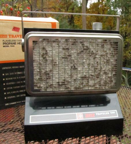 NOS Vintage ZEBCO TRAVELER 7000 Catalytic Propane Heater