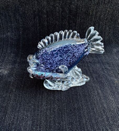 Peter Patterson signed fish sculpture
