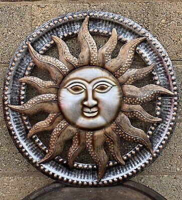 Stunning Sun Face Wall Art Garden Ornament