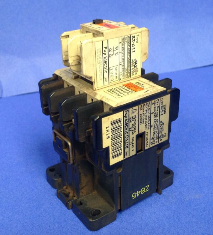 FUJI ELECTRIC * CONTACTOR * TYPE S-1 WC-5/ SZ-A11