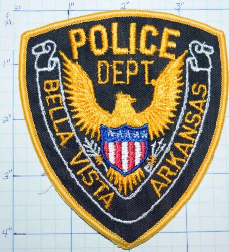 ARKANSAS, BELLA VISTA POLICE DEPT VINTAGE PATCH