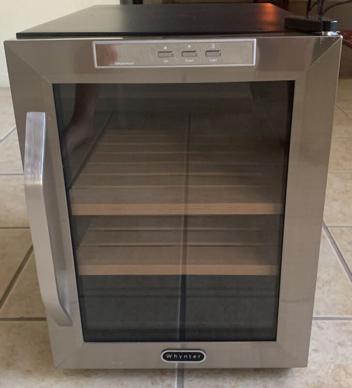 Whynter CHC-120S Cigar Cooler Humidor - Tested - FREE SHIPPING!!!